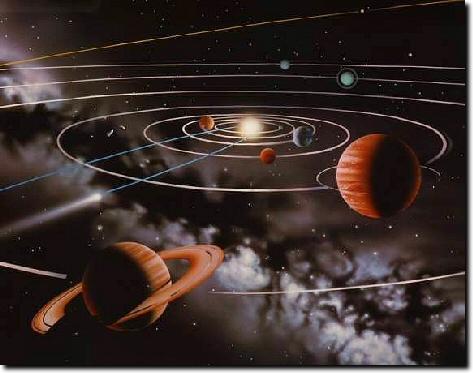 nuestro sistema solar. o nuestro Sistema Solar no